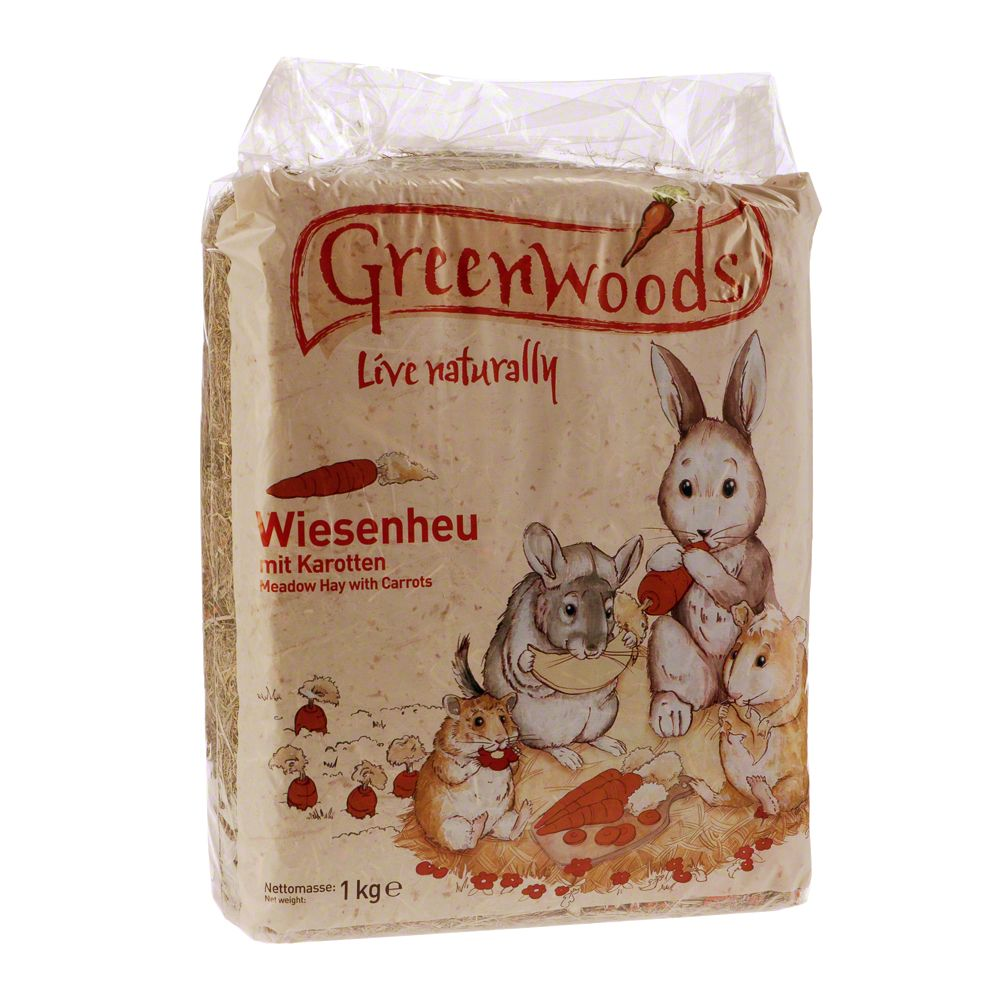 Greenwoods Siano łąkowe, 1 kg - Mniszek lekarski, 1 kg