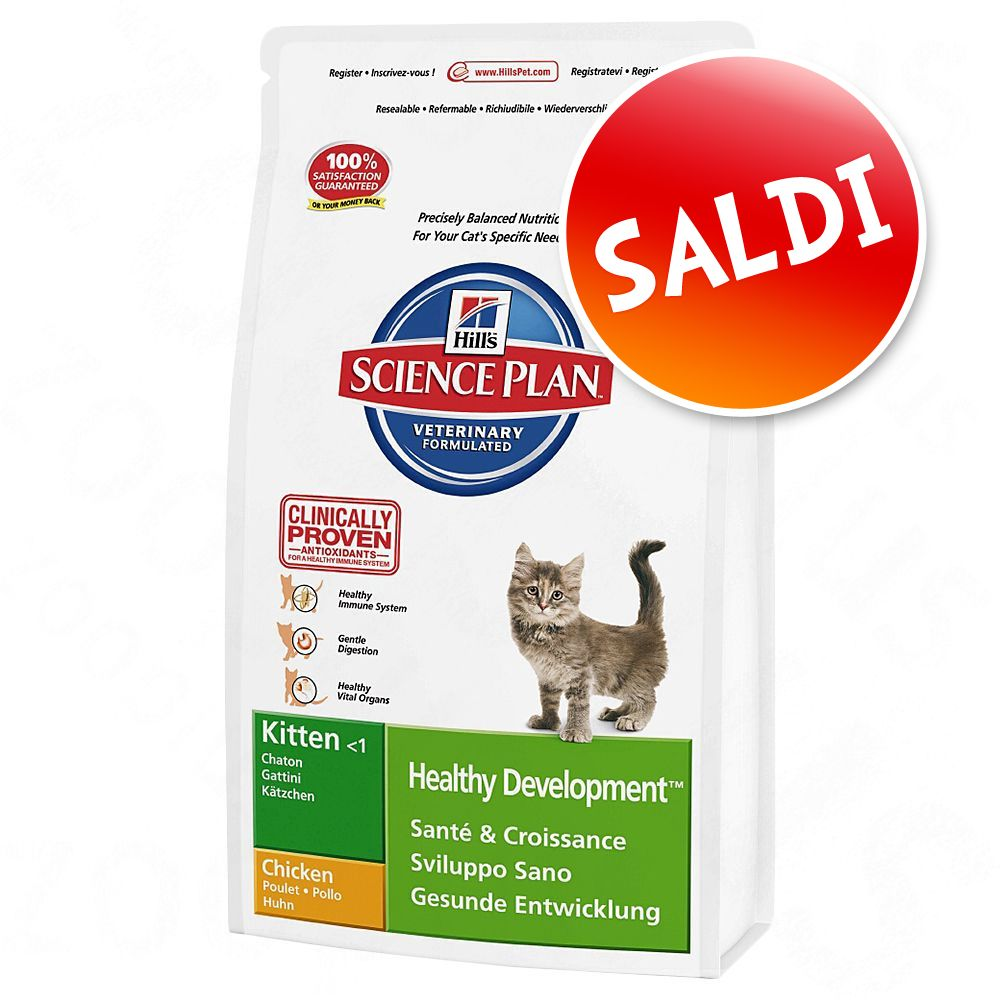 Foto Hill's Science Plan Kitten Pollo - 10 kg
