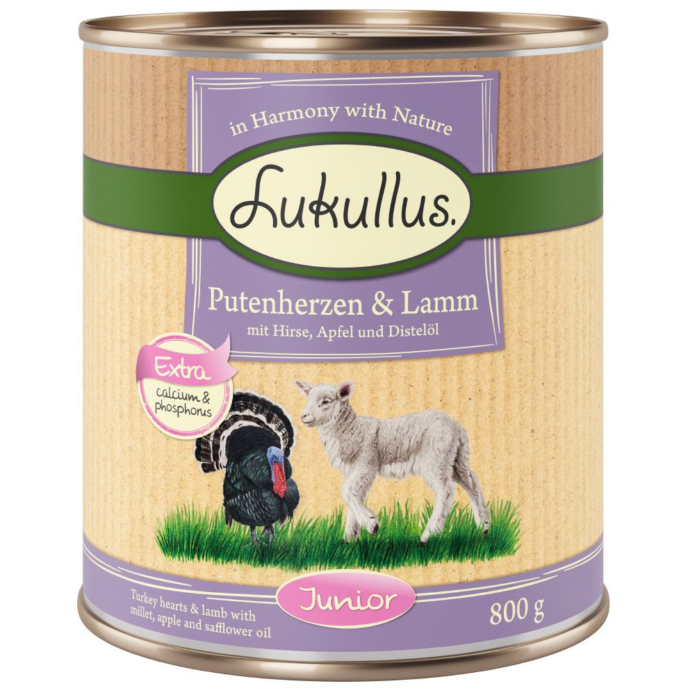 Turkey Junior Lukullus Wet Dog Food