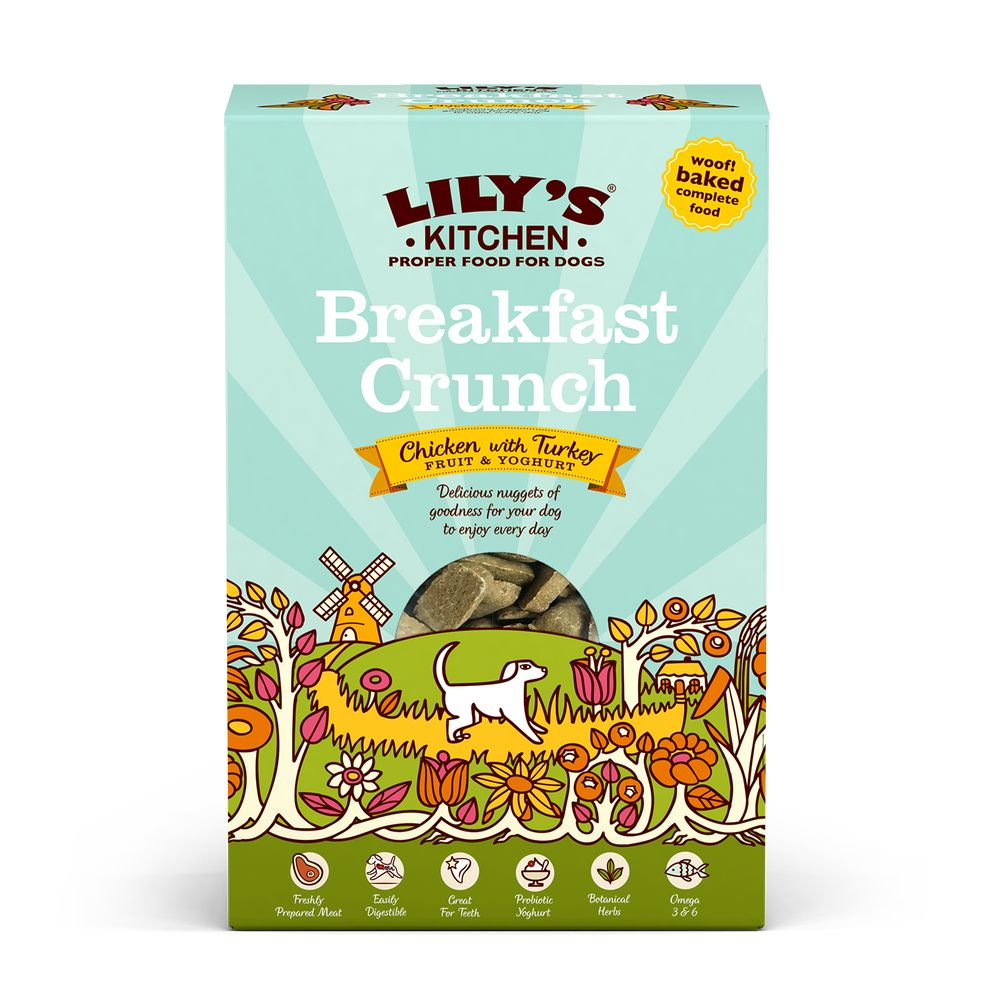 Lily's Kitchen Adult Dry Dog Food - Breakfast Crunch - 800g