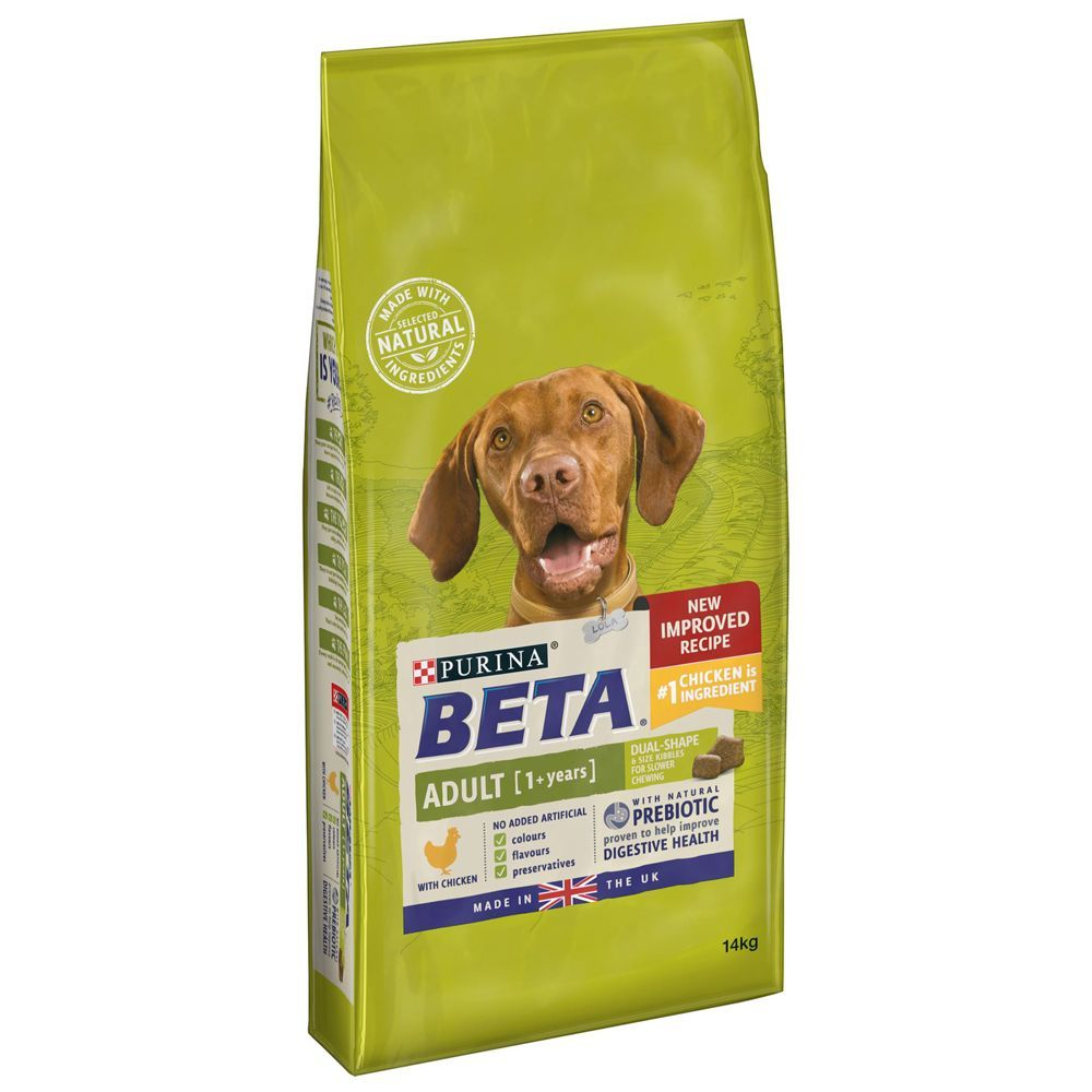 BETA Dog Food Economy Packs 2 x 14kg - Adult Pet Maintenance with Chicken