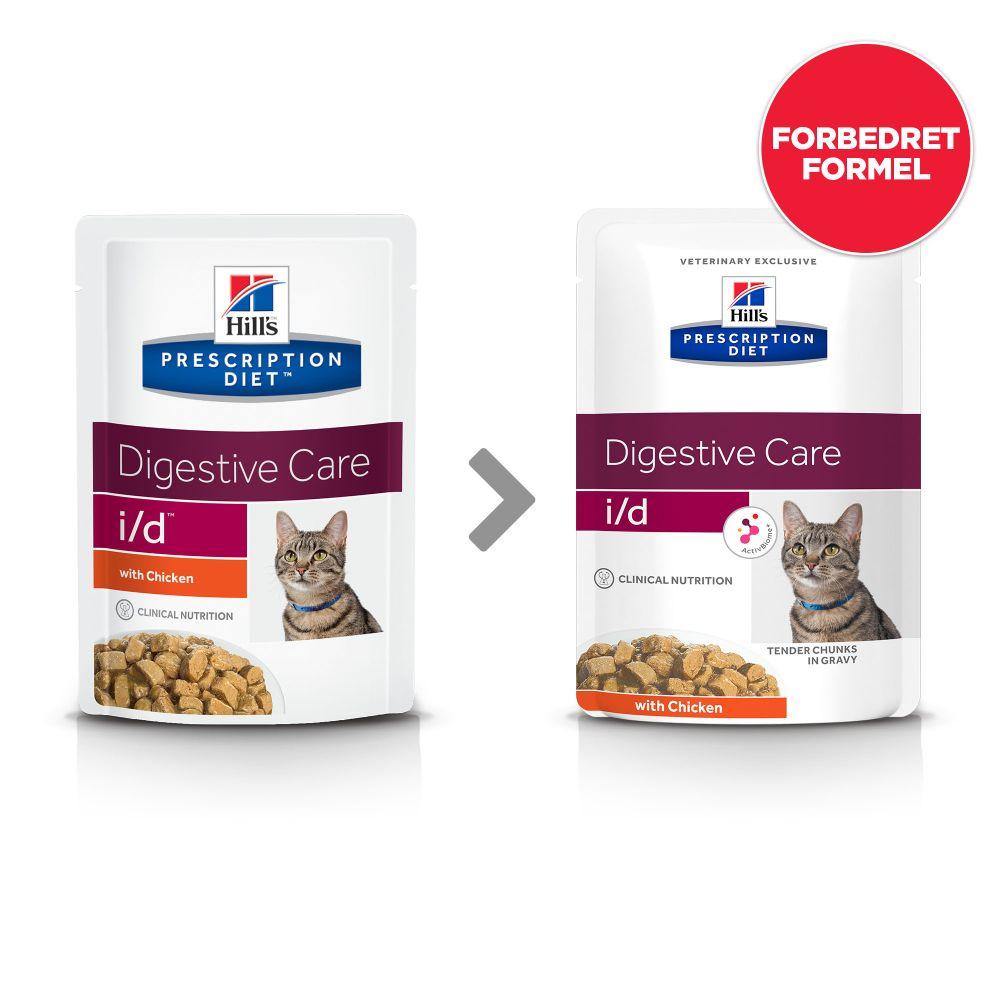 24x85g i/d Digestive Care kylling Hill's Prescription Diet kattefoder