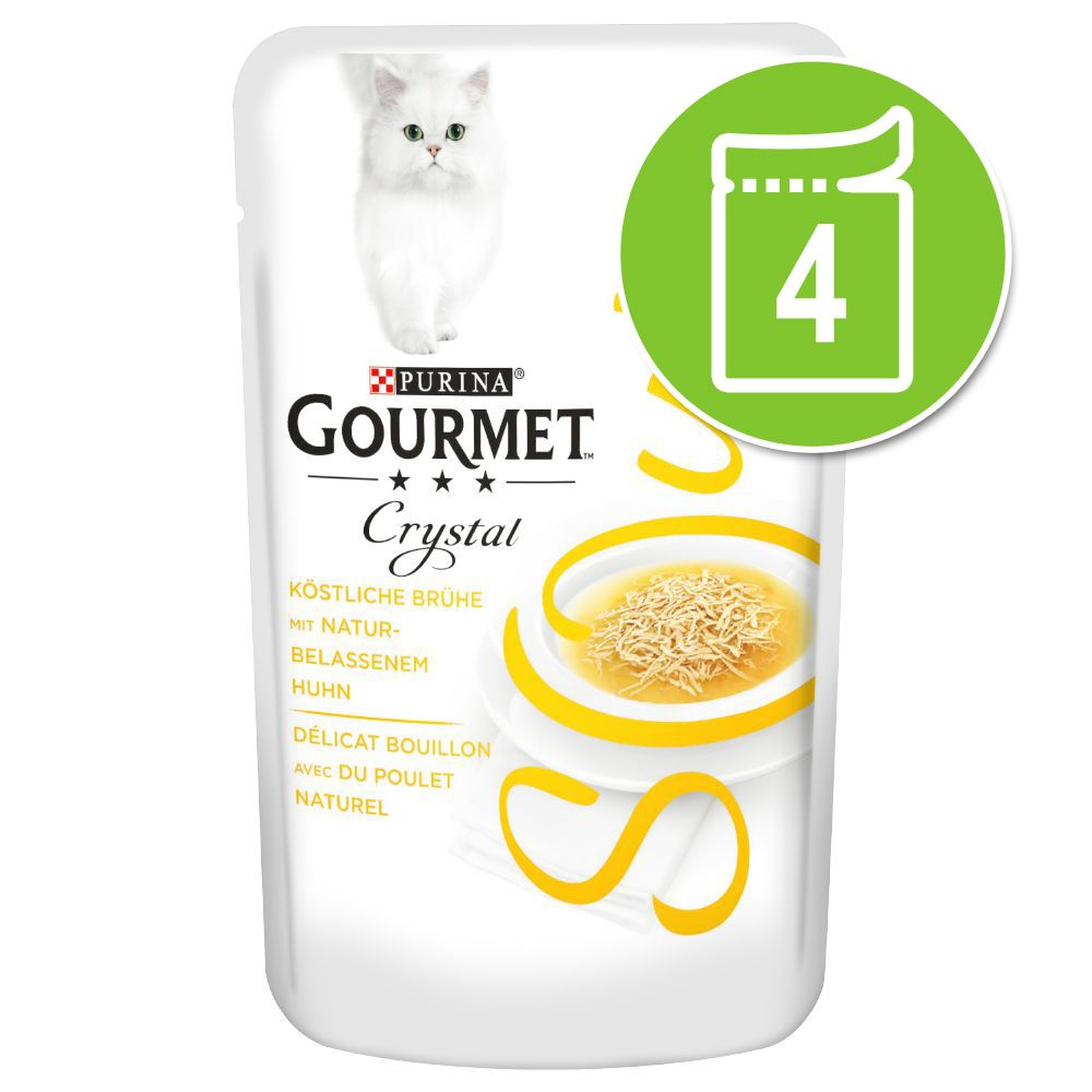 Gourmet Soup 4 x 40 g Blandpack Kyckling
