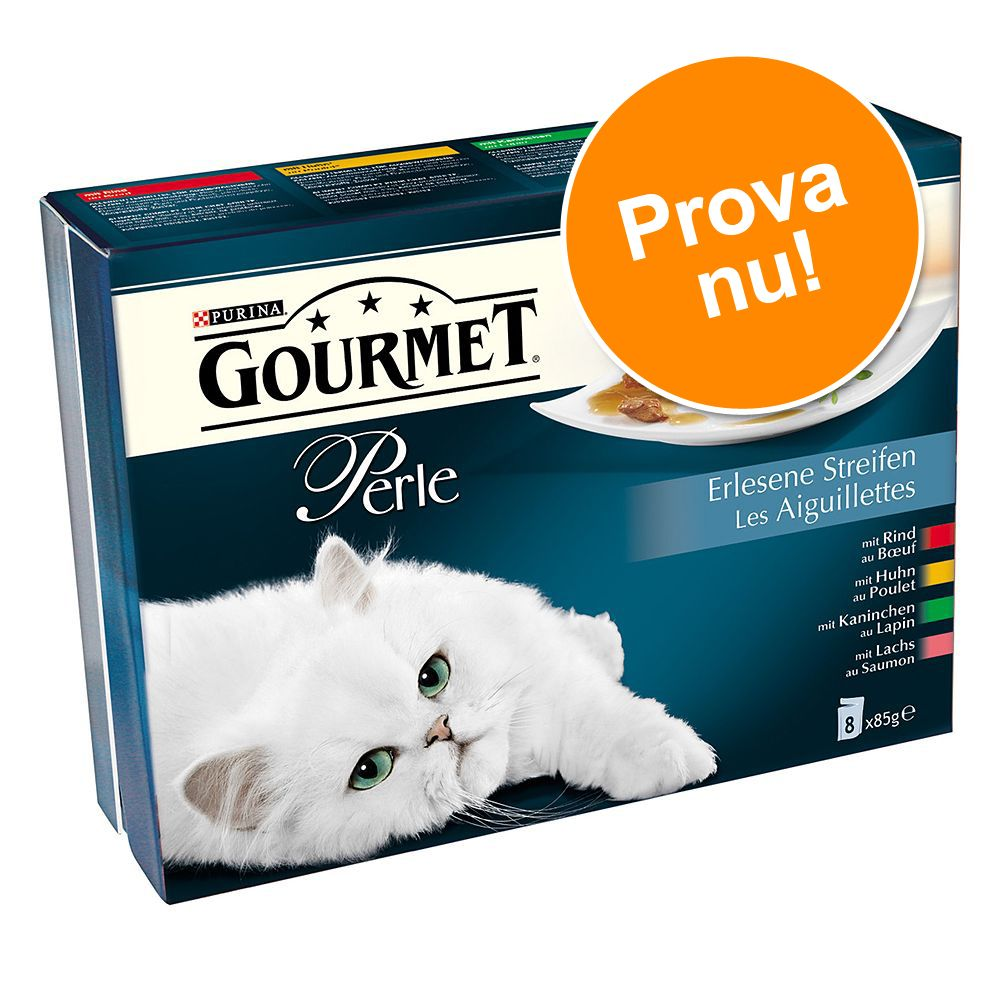 Gourmet Perle 8 x 85 g - Delikata strimlor