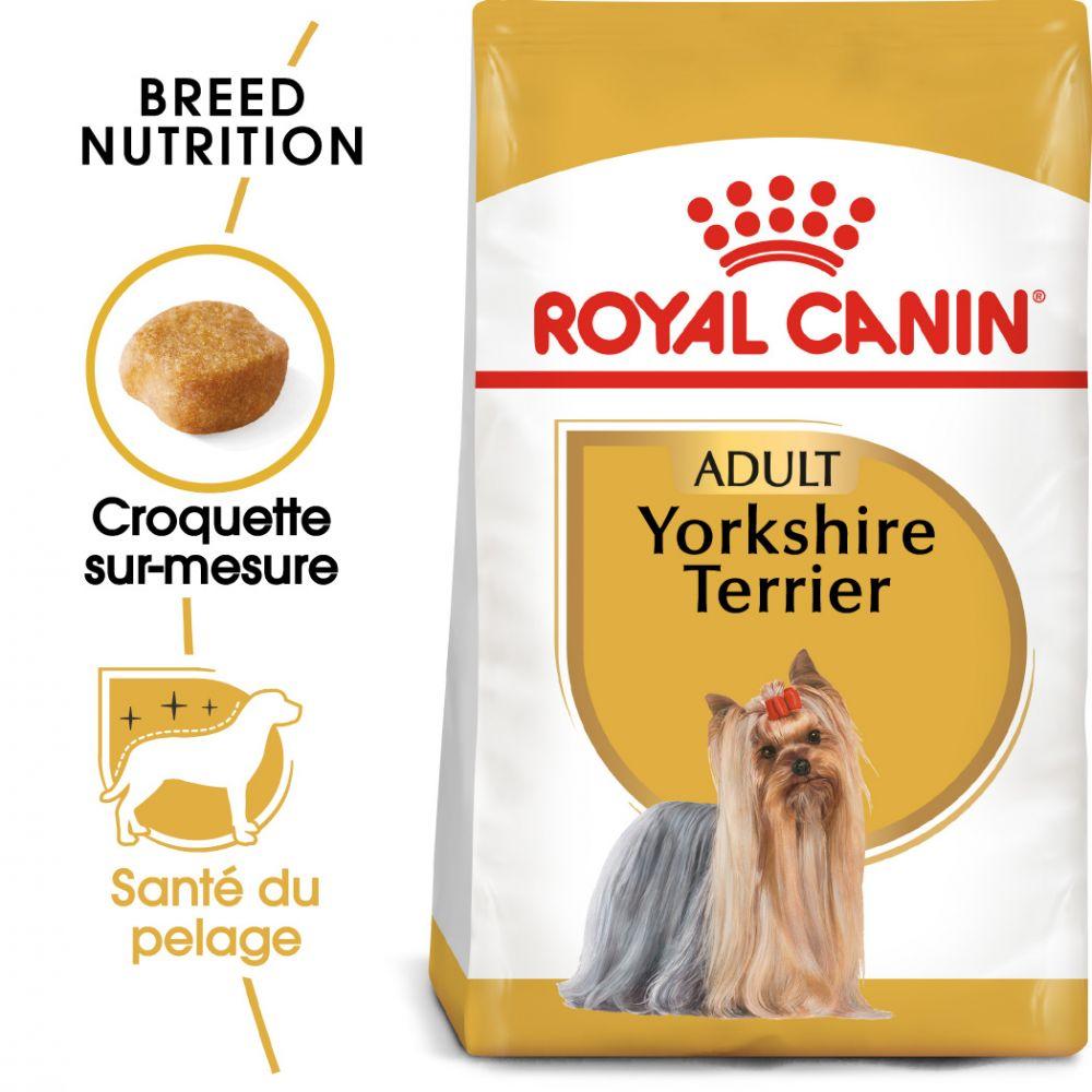3kg Yorkshire Terrier Adult Royal Canin - Croquettes pour chien