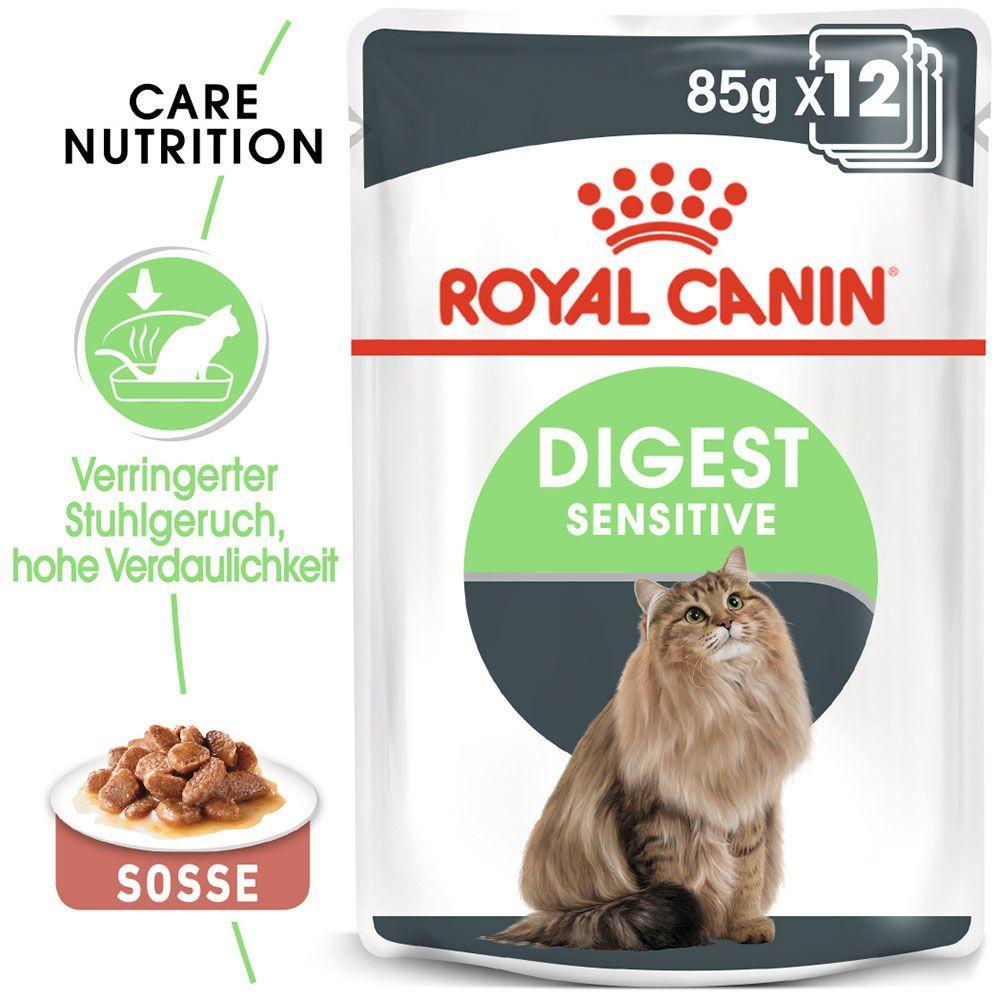 Royal Canin Digest Sensitive in soße - 12 x 85 g