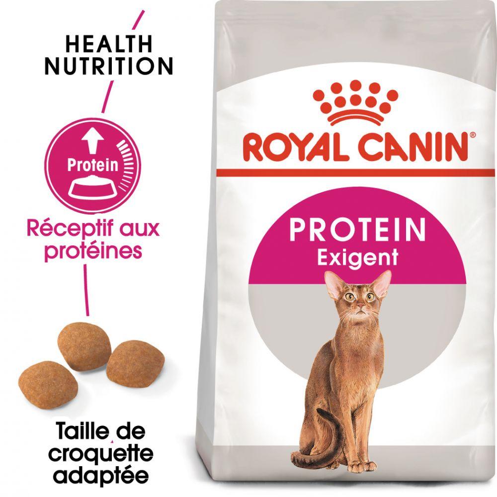 10kg Protein Exigent 42 Royal Canin Croquettes pour chat difficile