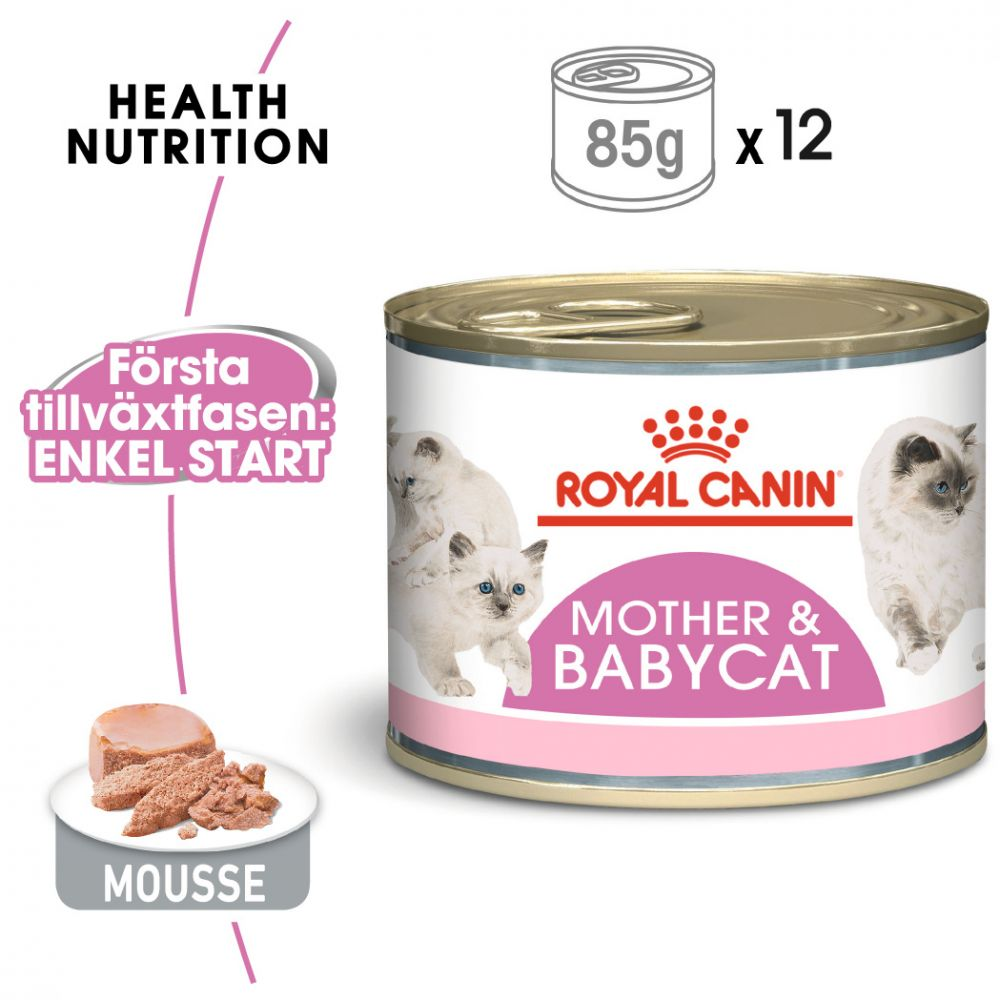 Royal Canin First Age Mother & Babycat Mousse - 12 x 195 g
