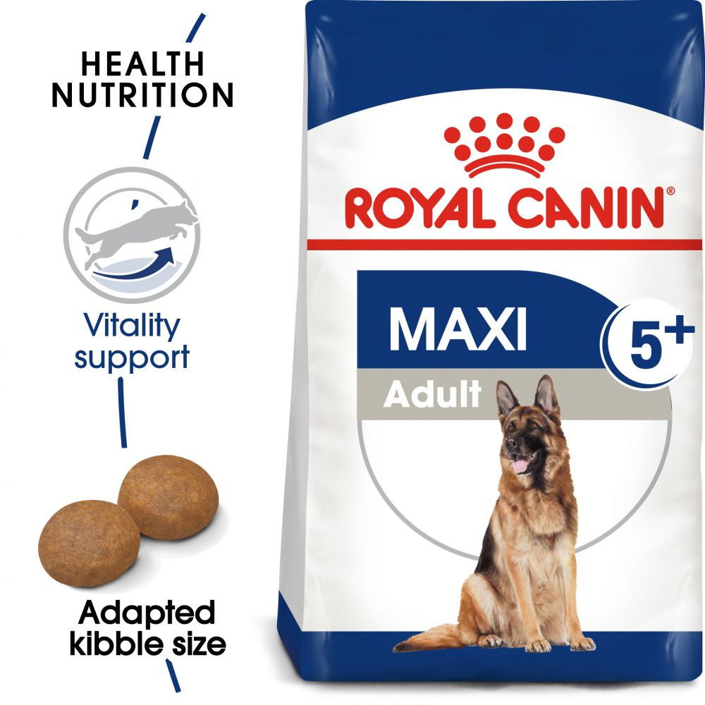 4kg 5+ Adult Maxi Royal Canin Dry Dog Food