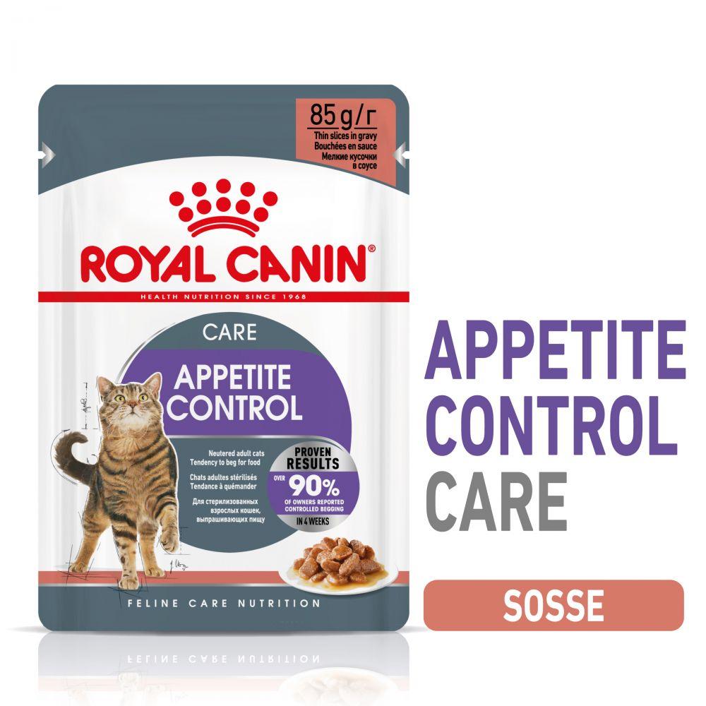 Royal Canin Appetite Control i sås - 96 x 85 g
