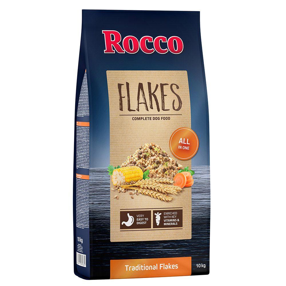 2x10kg Flocons Rocco - Croquettes pour chien