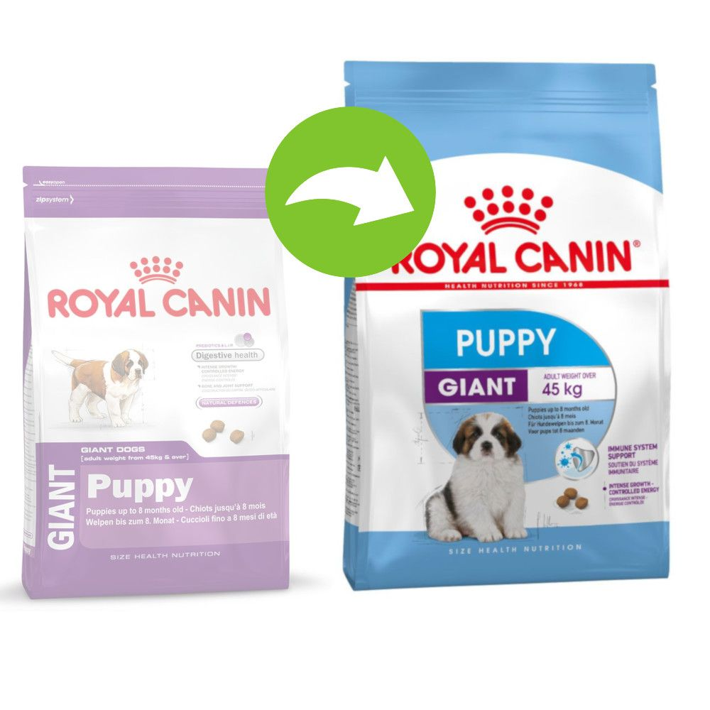 Image of Royal Canin Giant Puppy - Set %: 2 x 15 kg