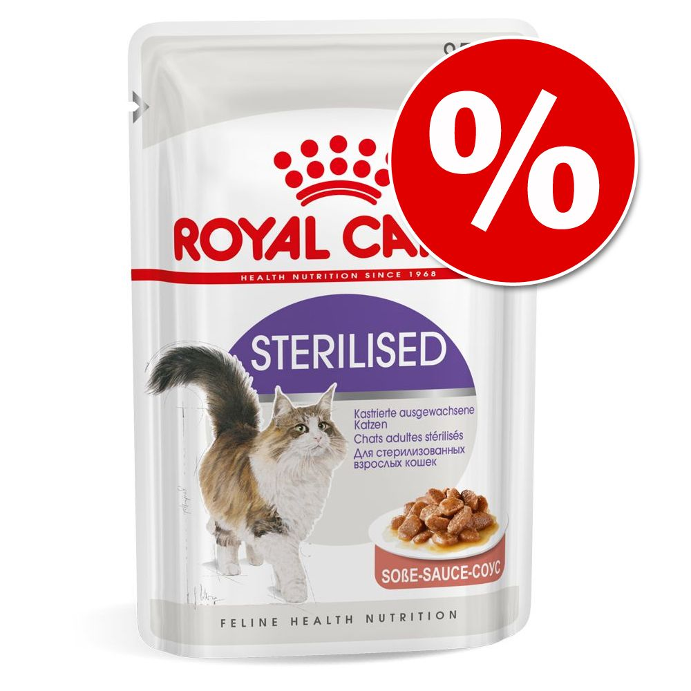 27 + 9 på köpet! 36 x 85 g Royal Canin i portionspåse - Instinctive i gelé