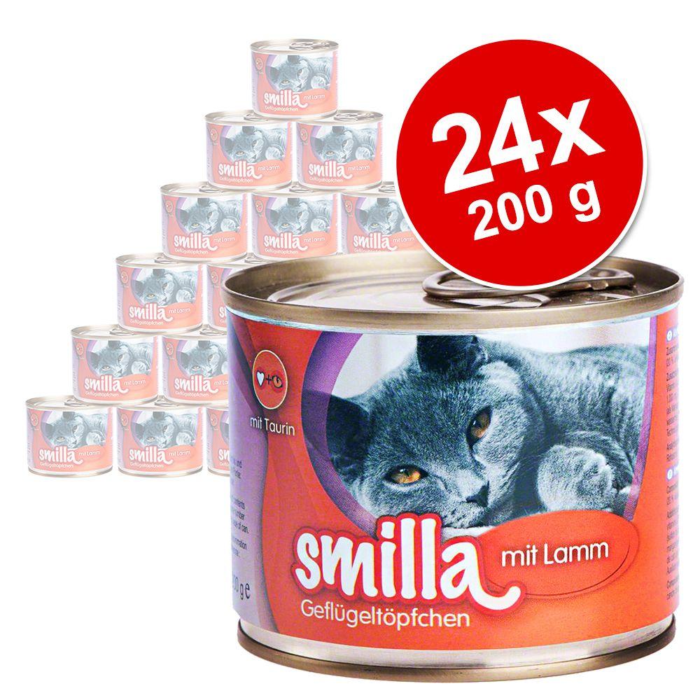 Image of Smilla Delizie al Pollo 24 x 200 g - Tenero pollo e agnello
