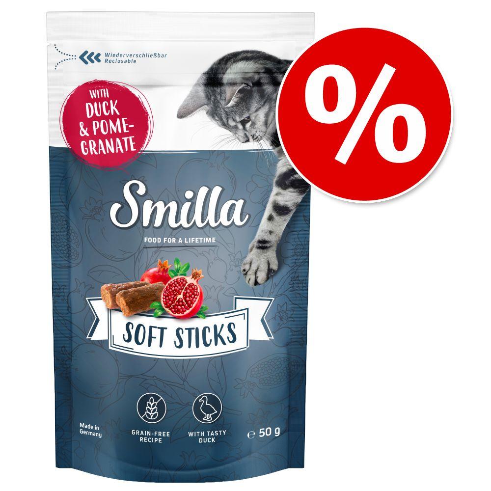 Smilla Soft Sticks 50 g till prova-på-pris! - Öring & lingon
