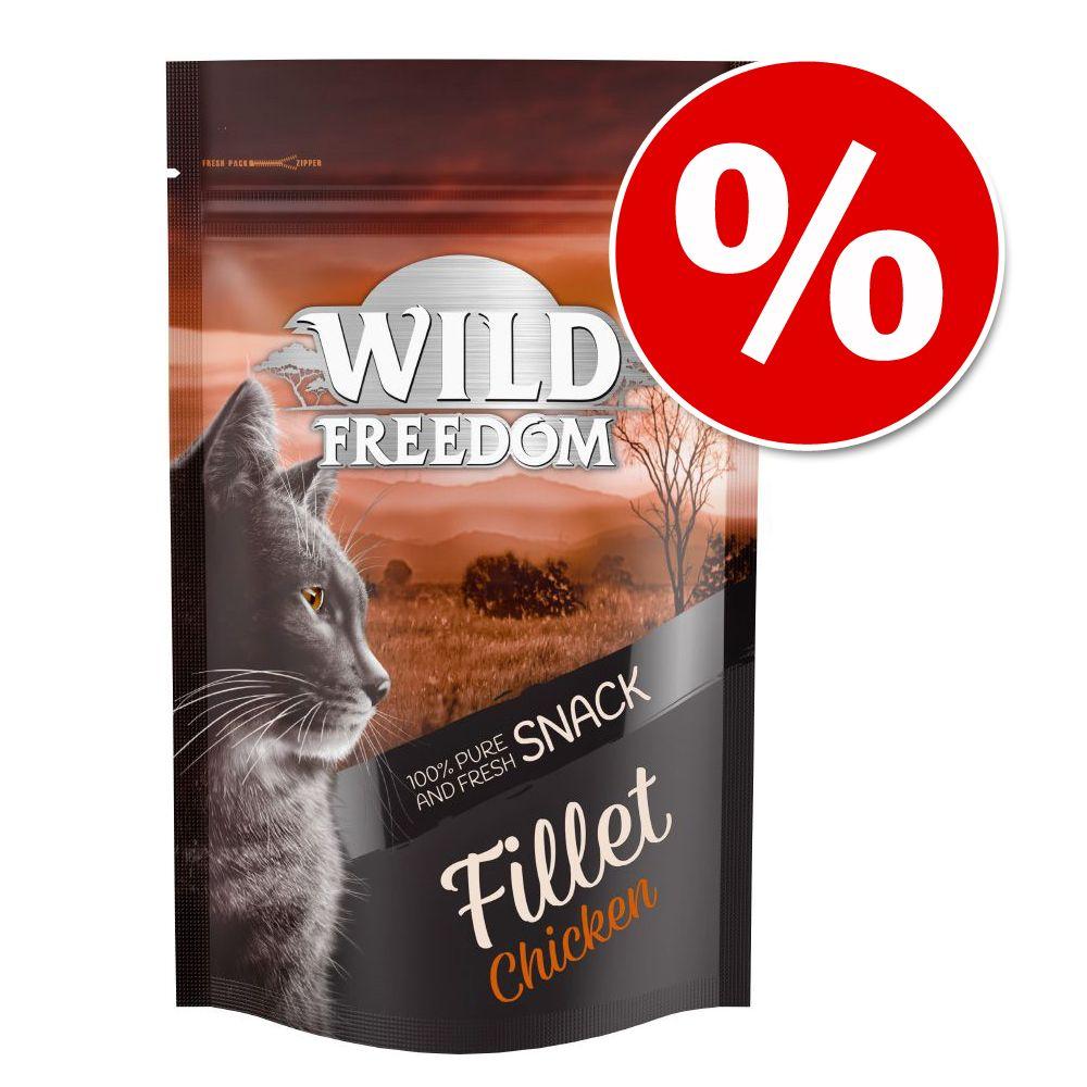 Wild Freedom Filet Snacks till sparpris! - Tuna (6 filéer)