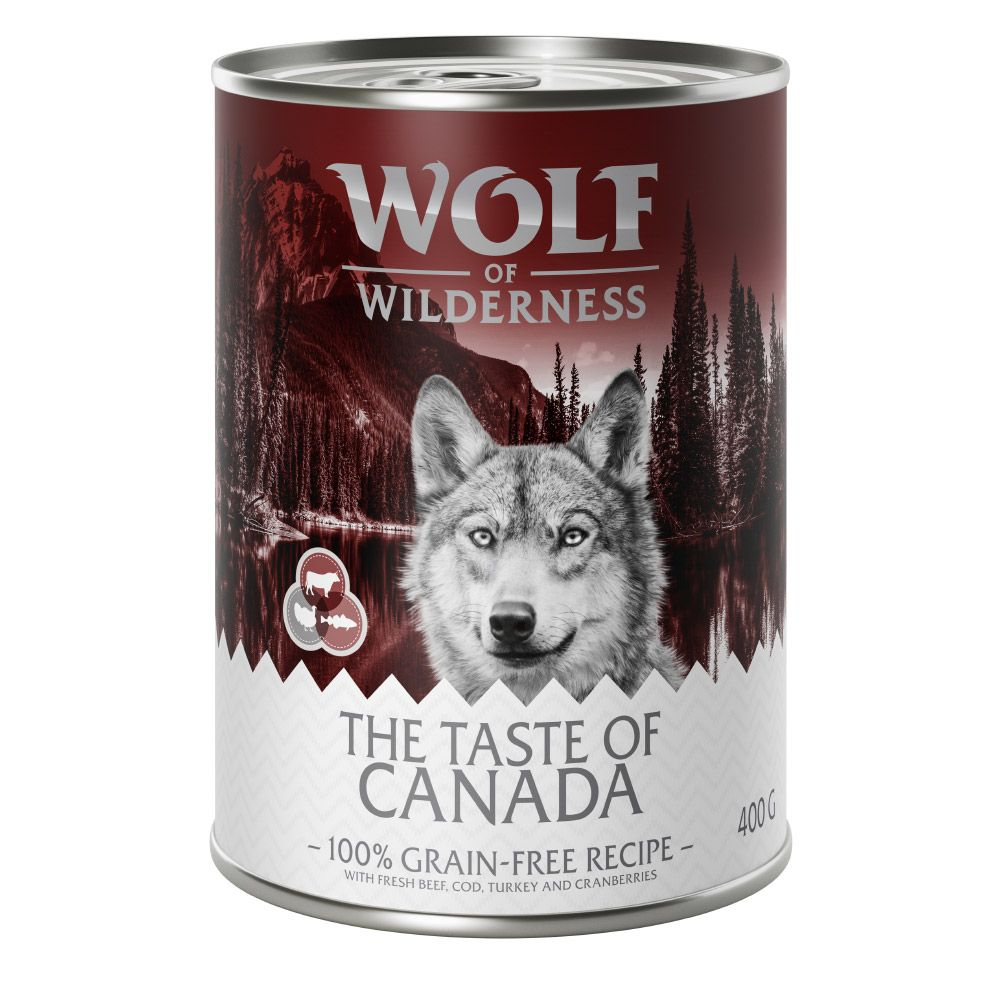 Wolf of Wilderness ''''The Taste Of'''' 6 x 400 g - The Taste Of Scandinavia