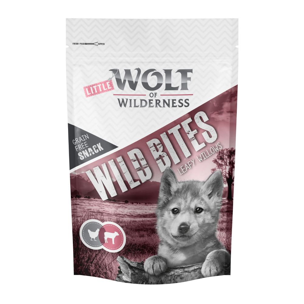 Veal &Chicken Wild Bites Junior Leafy Willows Little Wolf of Wilderness Dog Snacks