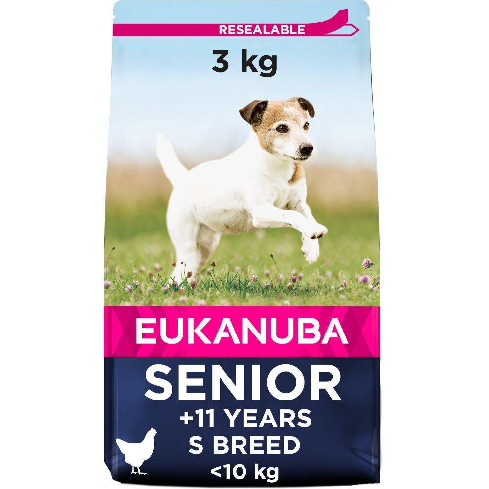 Eukanuba Caring Senior Small Breed - Chicken - 3kg
