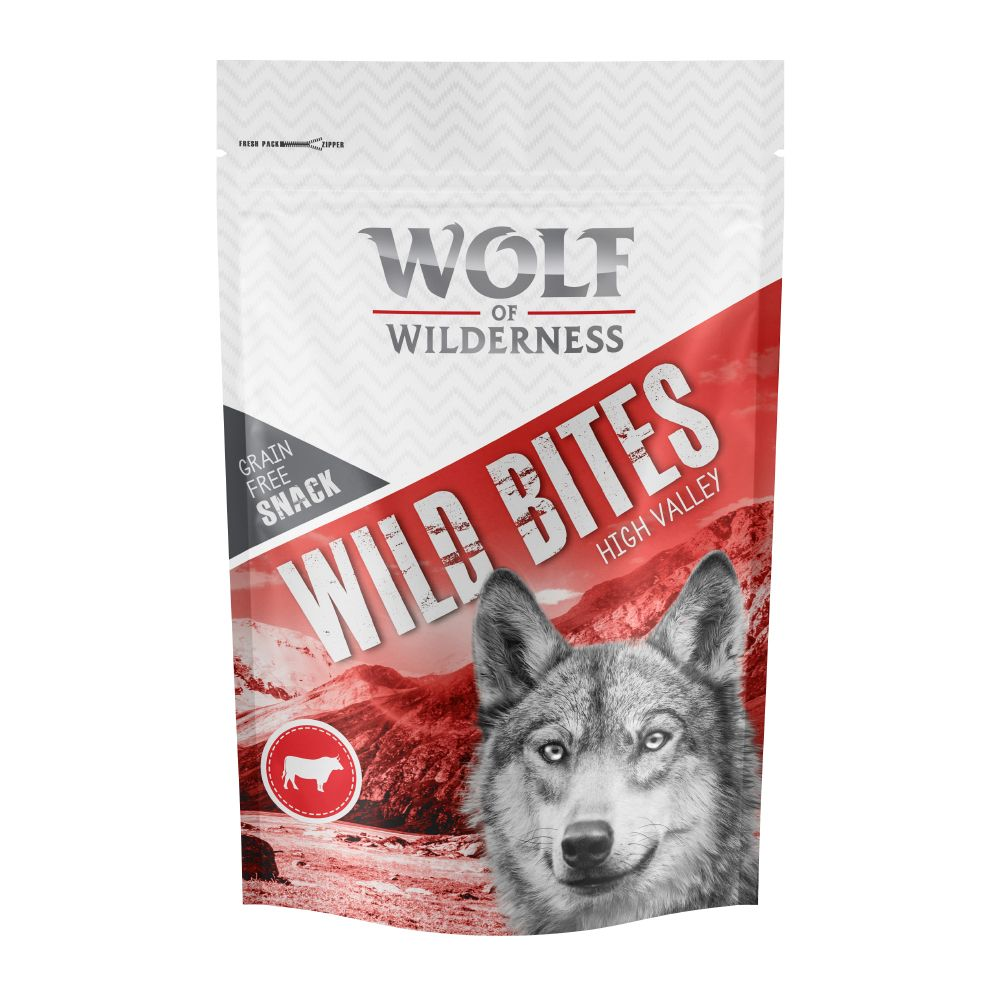 Beef High Valley Wolf of Wilderness Dog Snacks