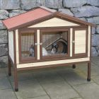 This insulated 4 Seasons Deluxe Small Pet Hutch from Kerbl is a real all-rounder in all weather conditions. This hutch provides your small pets with a comfortable ...