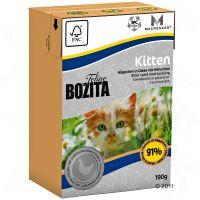 Bozita Feline Kitten Tetrapak Kattenvoer 6 x 190 g