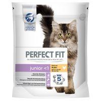 Perfect Fit Junior <1 Rijk aan Kip Kattenvoer Dubbelpak: 2 x 750 g