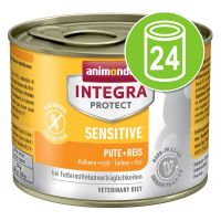 Animonda Integra Protect Adult Sensitive Blik Kattenvoer 24 x 200 g Lam & rijst