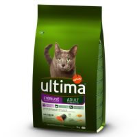 Ultima Adult Sterilised - Salmon & Barley - Economy Pack: 2 x 7.5kg