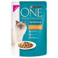 Purina ONE Sensitive - Saver Pack: 32 x 85g Chicken