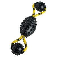 Hunter Spike Ball Rope dog toy - 30cm x 7cm Diameter