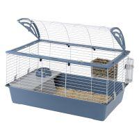 Ferplast Small Pet Cage Casita 100 - Blue: 96 x 57 x 56 cm (L x W x H)