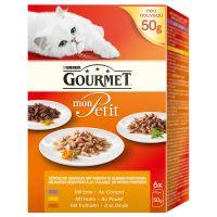 Gourmet Mon Petit - 6 x 50g Duo Meat