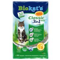 2 x10l Dubbelpak: Classic Fresh 3in1 Biokat ´s Kattenbakvulling