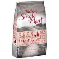 Purizon Single Meat Adult Dog Grain-Free Duck with Apple - Economy Pack: 2 x 12kg