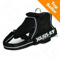 Pettorina julius-k9 power black - - mini-mini.