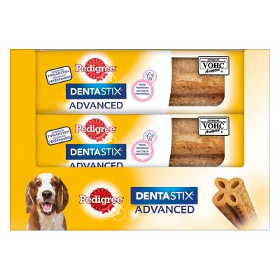Pedigree Dentastix Advanced - keskikokoisille koirille (9 x 80 g)