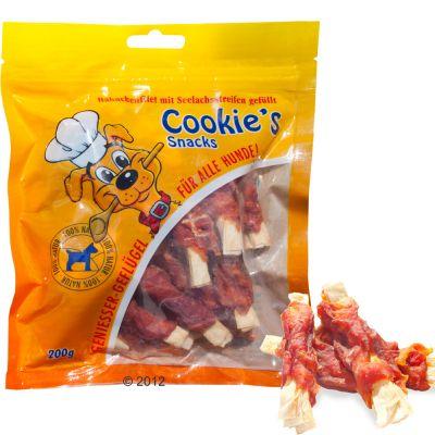 Cookie's Delikatess seiti- & kanafiletangot - 3 x 200 g
