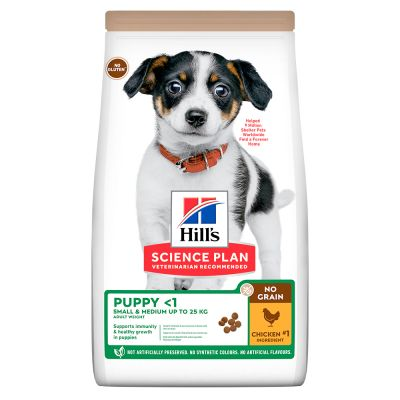 Hill's Science Plan Puppy <1 No Grain Chicken - 14 kg