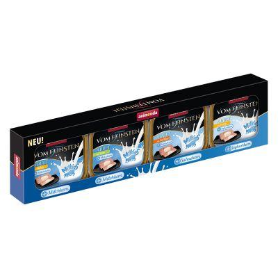 Image of 4 x 100 g Animonda Vom Feinsten Adult Milkies Mixpaket zum Sonderpreis! - Milkieskern (4 Sorten)