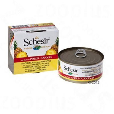 Schesir Fruit 6 x 150 g - kana & ananas