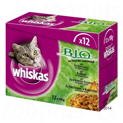 Whiskas Organic i portionspåse 12 x 100 g – 12 x 100 g