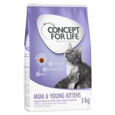 Concept for Life Mum & Young Kittens - 3 kg