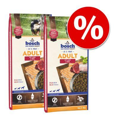 bosch-säästöpakkaus - 2 x 15 kg Adult Fish & Potato