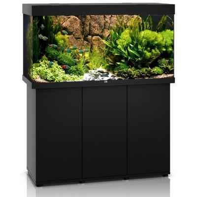 Juwel Rio 300 SBX -akvaario + akvaariokaappi - tumma puu