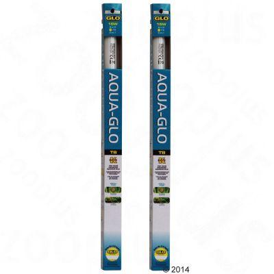Hagen Aqua-Glo Fluorescent akvariebelysning DUO - 2 x 15 W, L 43,74 cm