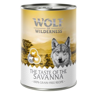 "Wolf of Wilderness ""The Taste Of The Savanna"""
