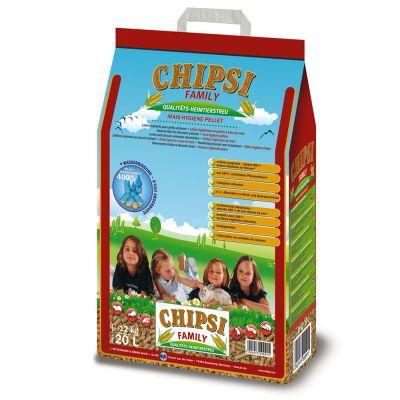 Chipsi Family Hygieniapelletit Maissista - 20,0 l