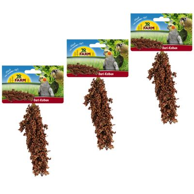 JR Farm dari-kolv – 3 stycken – Ekonomipack: Röd 2 x 3 st