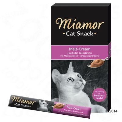 Miamor Cat Confect Malt Cream – 6 x 15 g